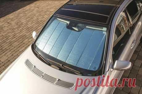 Как уберечь автомобиль от жары и палящего солнца . Тут забавно !!!