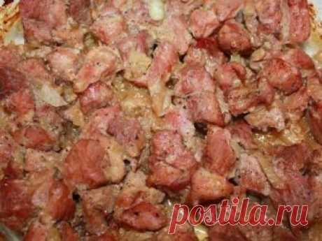 Мясо по-корейски.