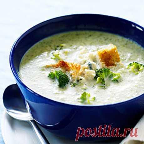 Рецепт супа-пюре с брокколи и беконом