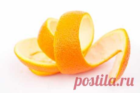 Апельсиновая кожура на все случаи жизни — Полезные советы