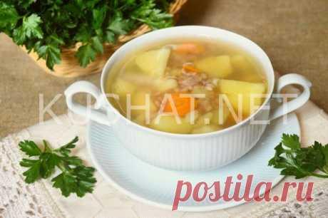 Гречневый суп с курицей. Пошаговый рецепт с фото • Кушать нет