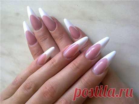 Выбор формы ногтей / Все для женщины