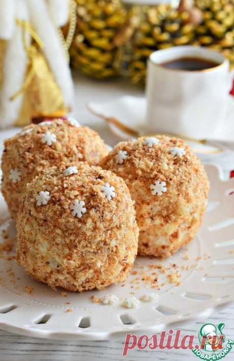 Слоеные пирожные со сметанным кремом – кулинарный рецепт