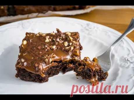 Брауни с карамелью | Brownies with Caramel | Tanya Shpilko
