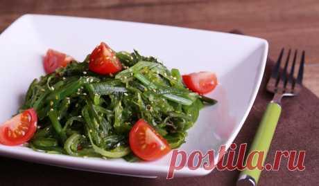 Салат с морской капустой рецепт приготовления