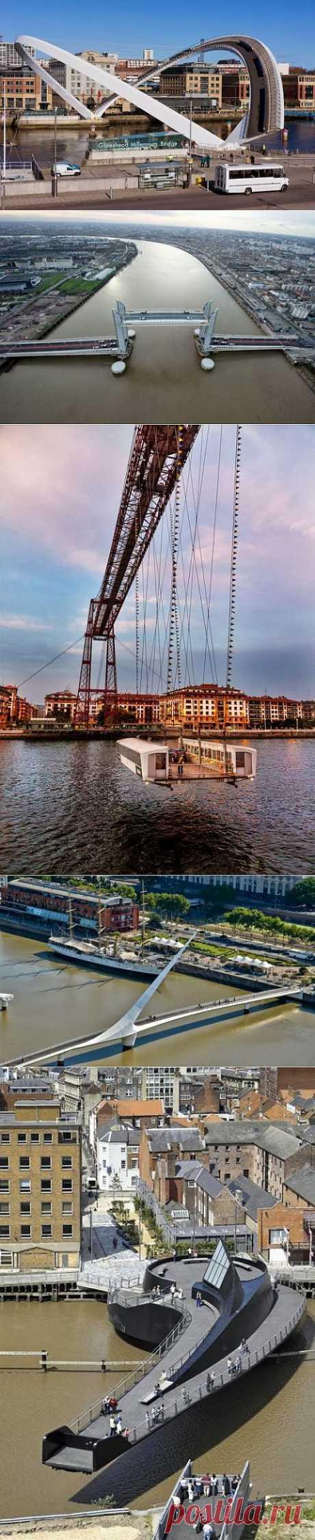 10 Великолепных разводных мостов | Занимательный журнал