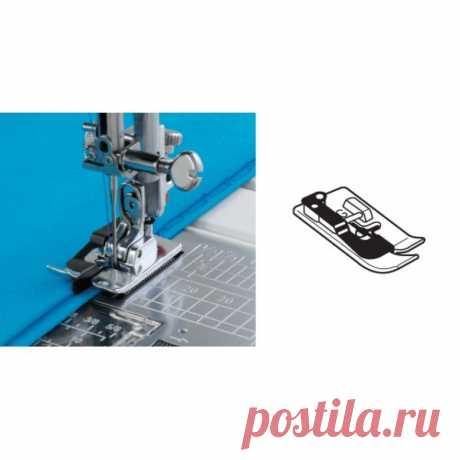 Как пользоваться дополнительными лапками для швейных машин: лапка для потайной строчки