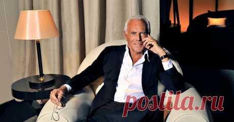 82-летний Джорджио Армани показал, как должна выглядеть стильная женщина! СМОТРИТЕ!