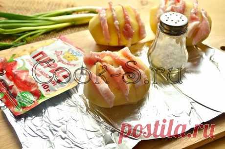 Картошка со свининой в фольге - Пошаговый рецепт с фото   Разное