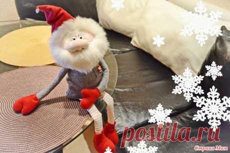 . Видео МК: шьем новогоднего гнома - Игрушки своими руками - Страна Мам