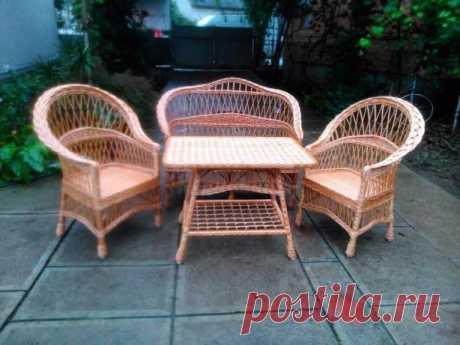 """Набор мебели из лозы """"Обычный"""": 3 000 грн. - Мебель для гостиной Калуш на Olx"""