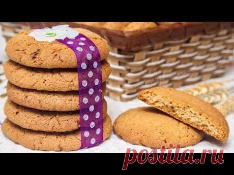The CRACKLING DELICACY! Oatmeal cookies with nuts – the recipe of simple and tasty pastries!