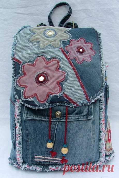 Самая большая коллекция идей джинсовых сумок - Сам себе волшебник
