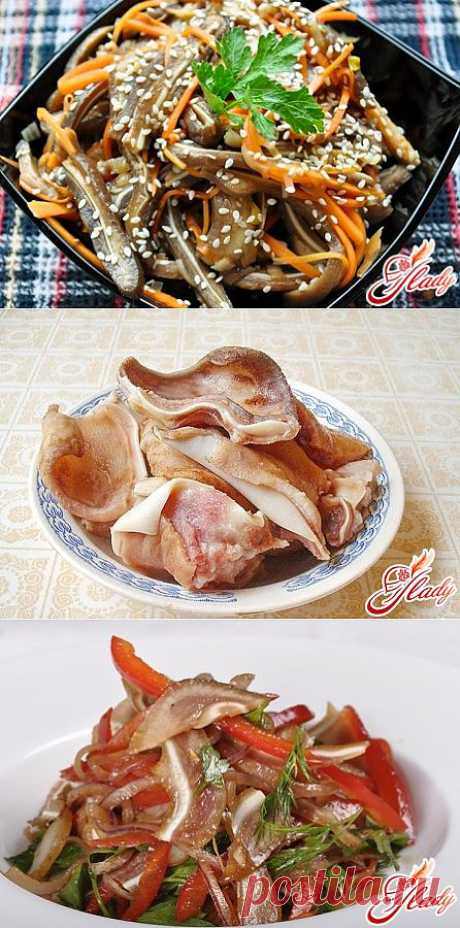 Свиные уши: рецепт на любой вкус