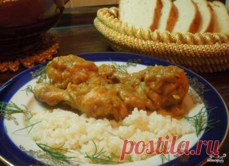 Курица по-еврейски - пошаговый рецепт с фото на Повар.ру