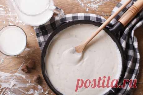 Соус бешамель: классический рецепт в домашних условиях