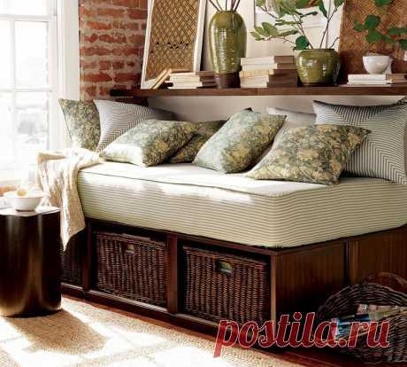 Как сделать диван с просторным местом для хранения внутри своими руками