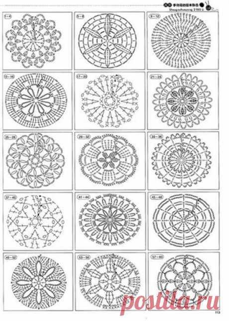 (26) Чудесное вязание спицами и крючком - схемы и идеи