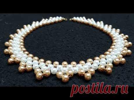 Lindo Collar de Perlas...Clase #173!!!