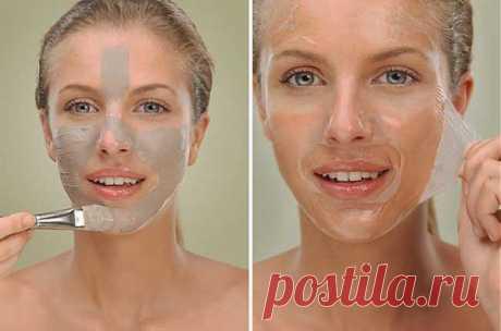 Желатиновые маски для всех типов кожи.