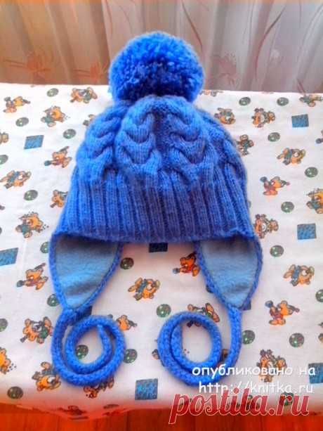 Children's cap and snud spokes. Ivanova Svetlana's works, Knitting for children