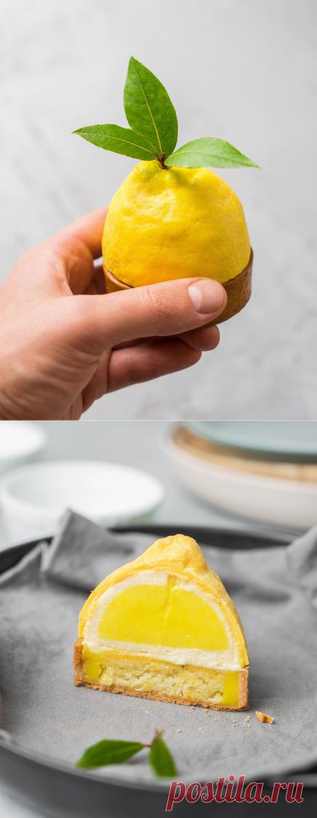Лимонный тарт с мятным муссом | Andy Chef (Энди Шеф) — блог о еде и путешествиях, пошаговые рецепты, интернет-магазин для кондитеров |