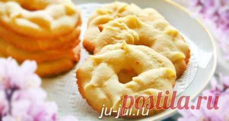 Сливочное печенье рецепт   Готовим вкусно
