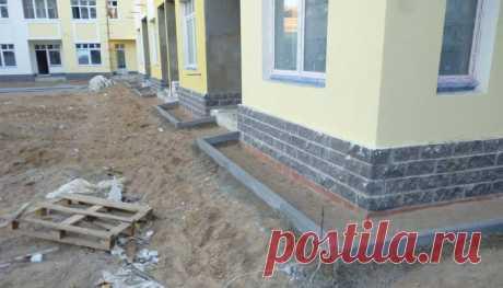 Отмостка для дома своими руками - Строим в Гродно
