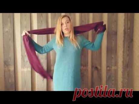 Платье спицами. 1-я часть. Базовая модель.