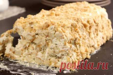 Торт из 3-х ингредиентов, который лучше «Наполеона»!