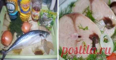 Так мариновать рыбу научил меня один северянин. Исключительный рецепт! Пряная, в меру соленая...