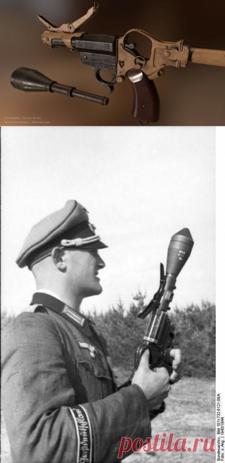 Мощнейший немецкий пистолет, который уничтожал Т-34 | Записки оружейника | Яндекс Дзен