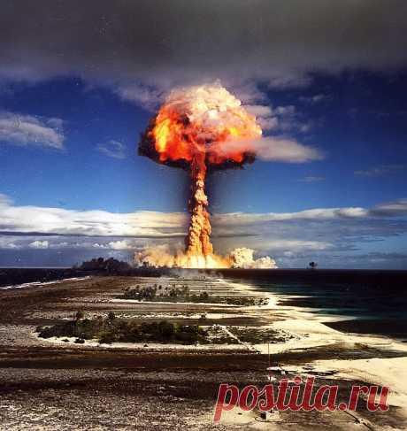Ядерные взрывы | ФОТО НОВОСТИ