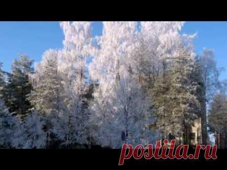 Зимний Висагинас - YouTube