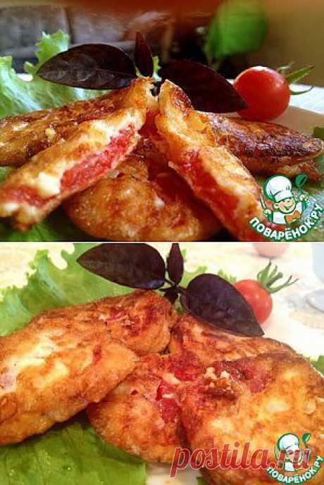 Помидоры жаренные в сырном кляре - кулинарный рецепт