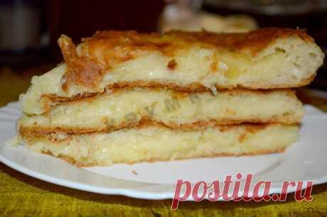 Осетинский пирог с картошкой и сулугуни рецепт с фото пошагово - 1000.menu