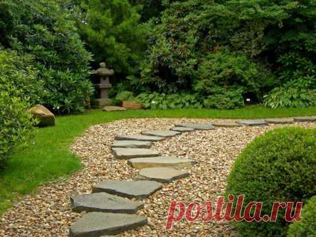 12 садовых дорожек для разных стилей ландшафта / 7dach.ru