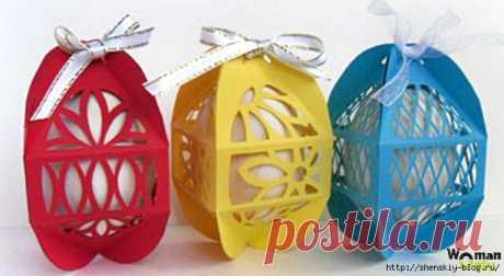 Коробочки для пасхальных яиц своими руками + шаблоны для печати
