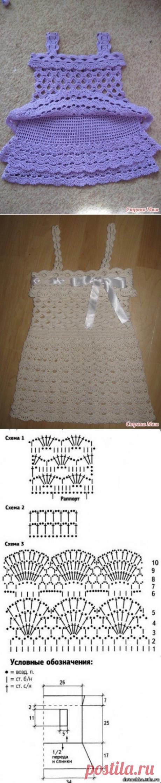 Ажурное платьице