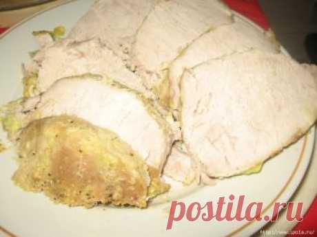 Мясо на бутерброды, запечённое в фольге