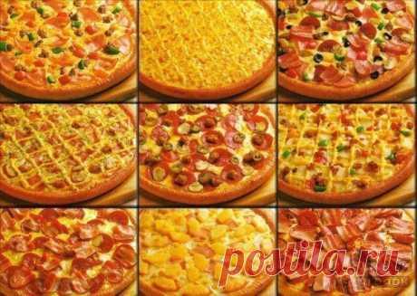 Идеальное тесто для пиццы.