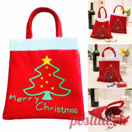 подарочная упаковка мешок Picture - More Detailed Picture about Creative Christmas Tree Pattern Santa Claus Candy Bag Handbag Home Party Decoration Gift Bag Christmas Supplie Free Shipping Picture in Stockings & Gift Holders from dependonu | Aliexpress.com | Alibaba Group