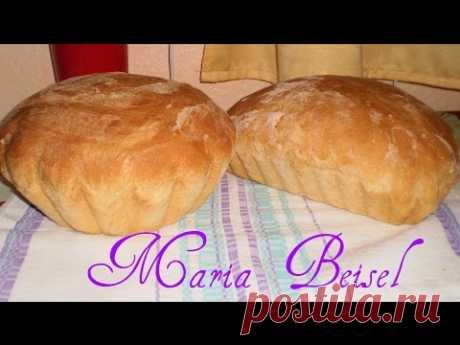 Домашний деревенский хлеб