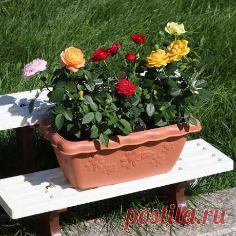 Тисненая смола цветочный горшок садоводство украшения пластиковый цветочный горшок балкон посадки цветочный горшок