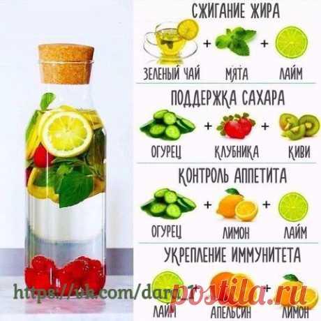 Полезные лимонадики  (не для ежедневного применения)