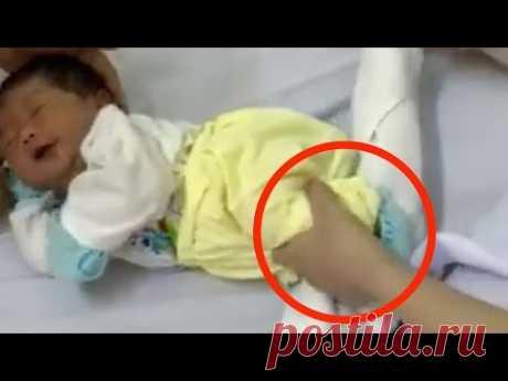 Гениальный совет для родителей: КАК уложить малыша за минуту с помощью полотенца.