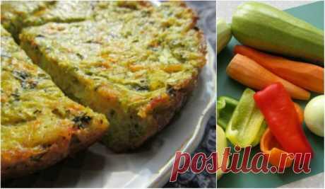 Вкуснейшая запеканка из овощей