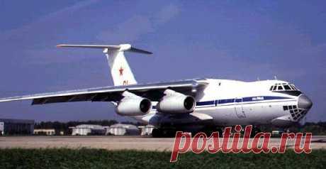 Ил-76.Военно-транспортный самолёт