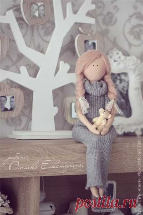 Шьем очаровательную куколку