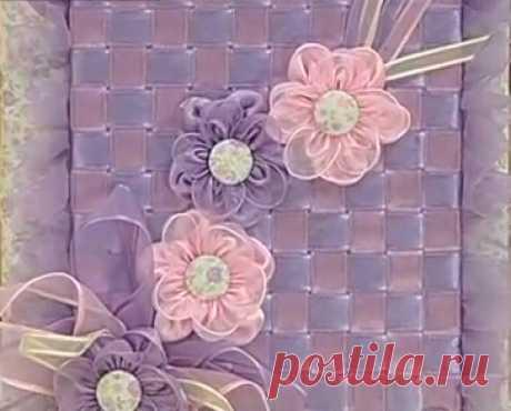 Craft Симпатичные: ноутбук, украшенный с лентой